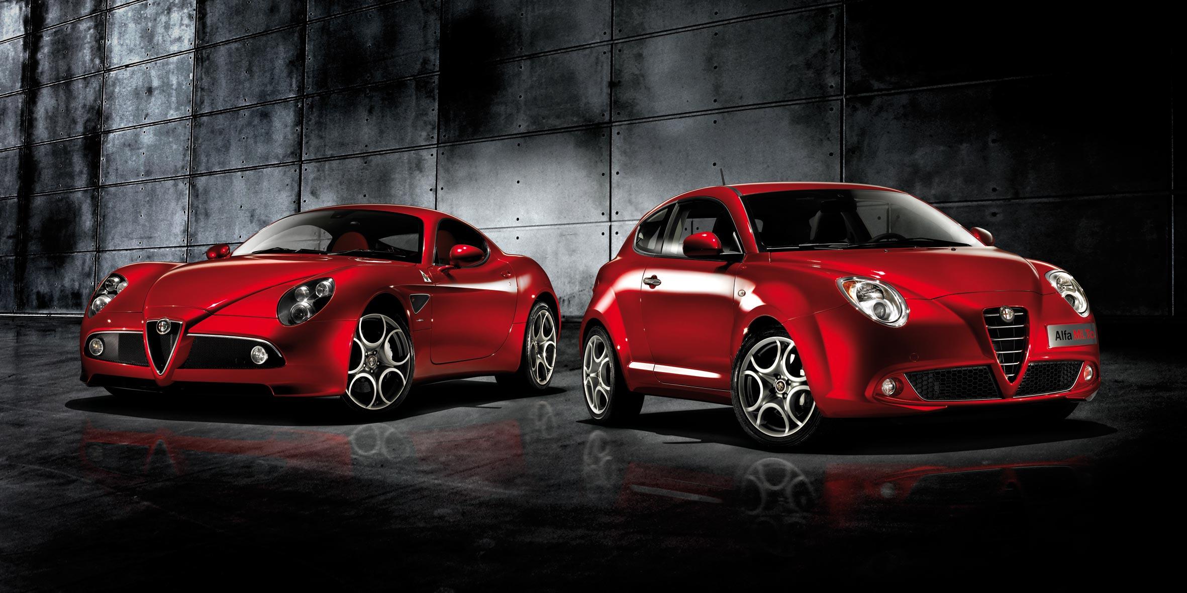 Alfa Romeo Бордовая  № 2426515  скачать