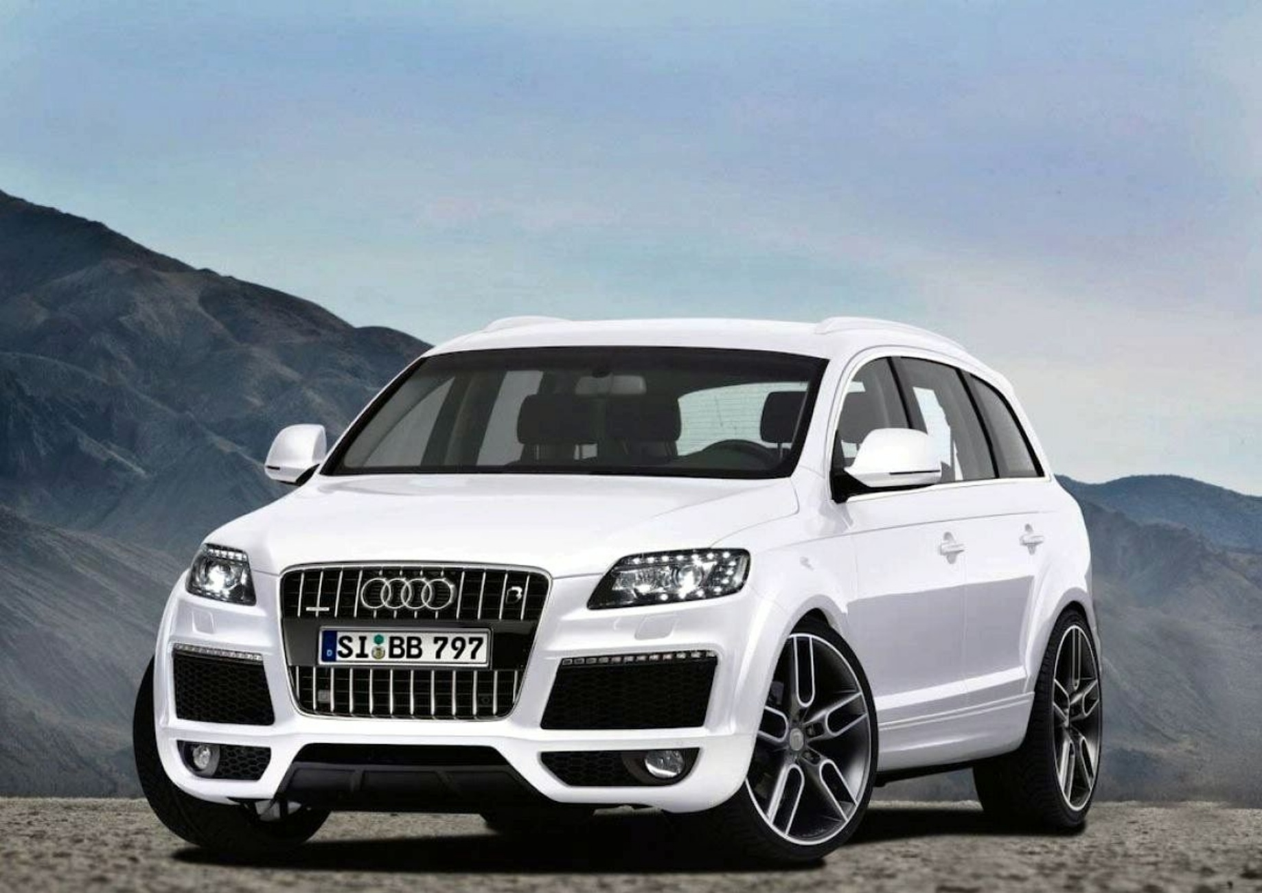 Audi Q7 #13 - high quality Audi Q7 pictures on MotorInfo.org