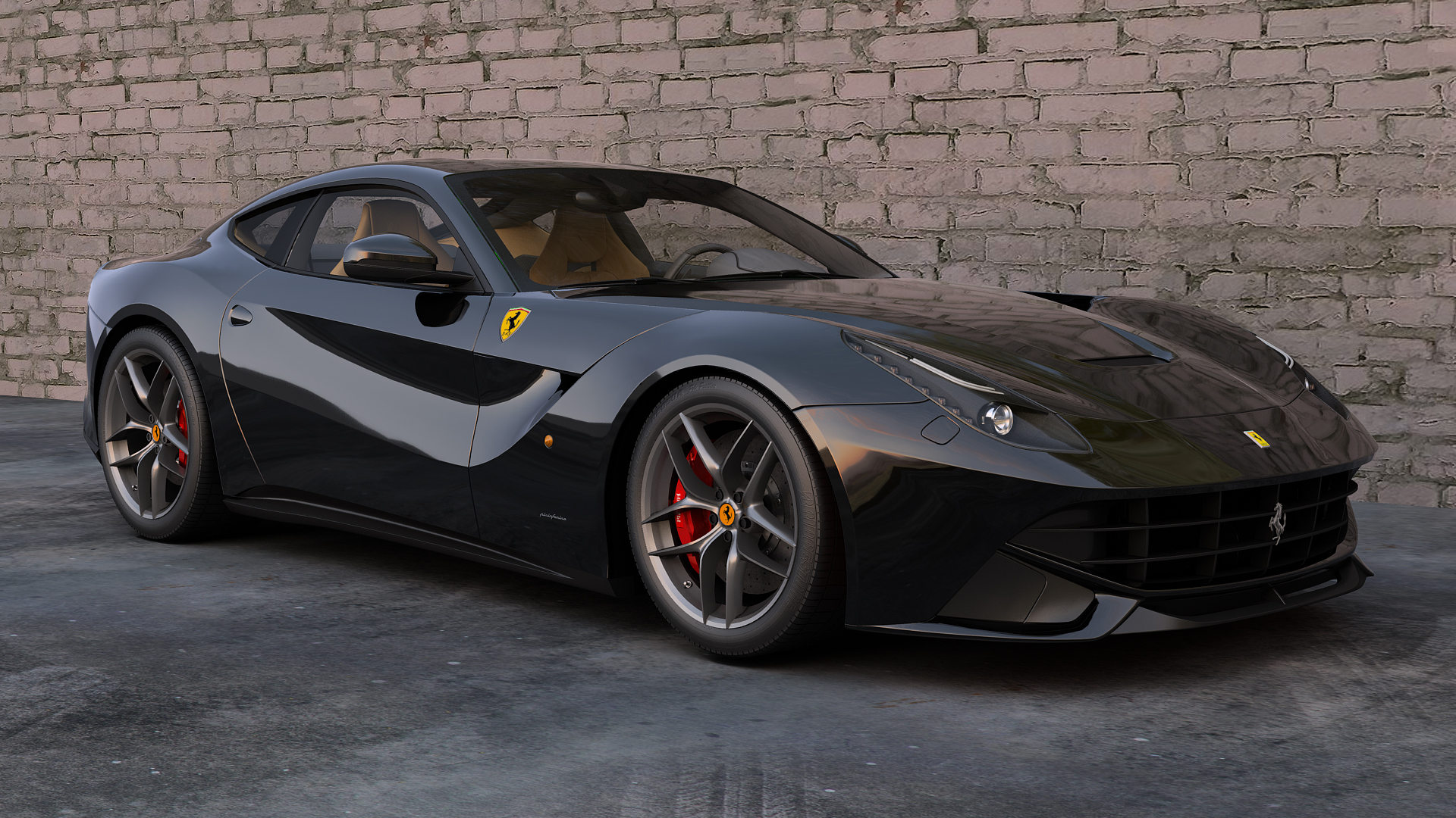 Ferrari F12 Berlinetta 14 High Quality Ferrari F12