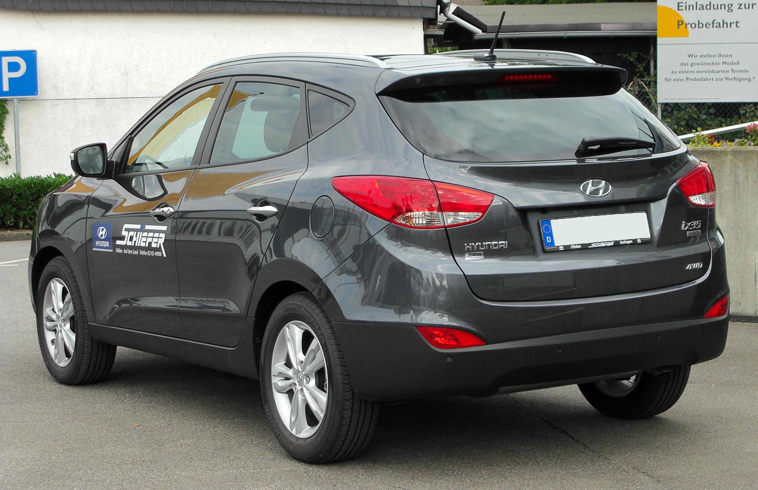 Hyundai Ix >> Hyundai ix35 #5 - high quality Hyundai ix35 pictures on MotorInfo.org