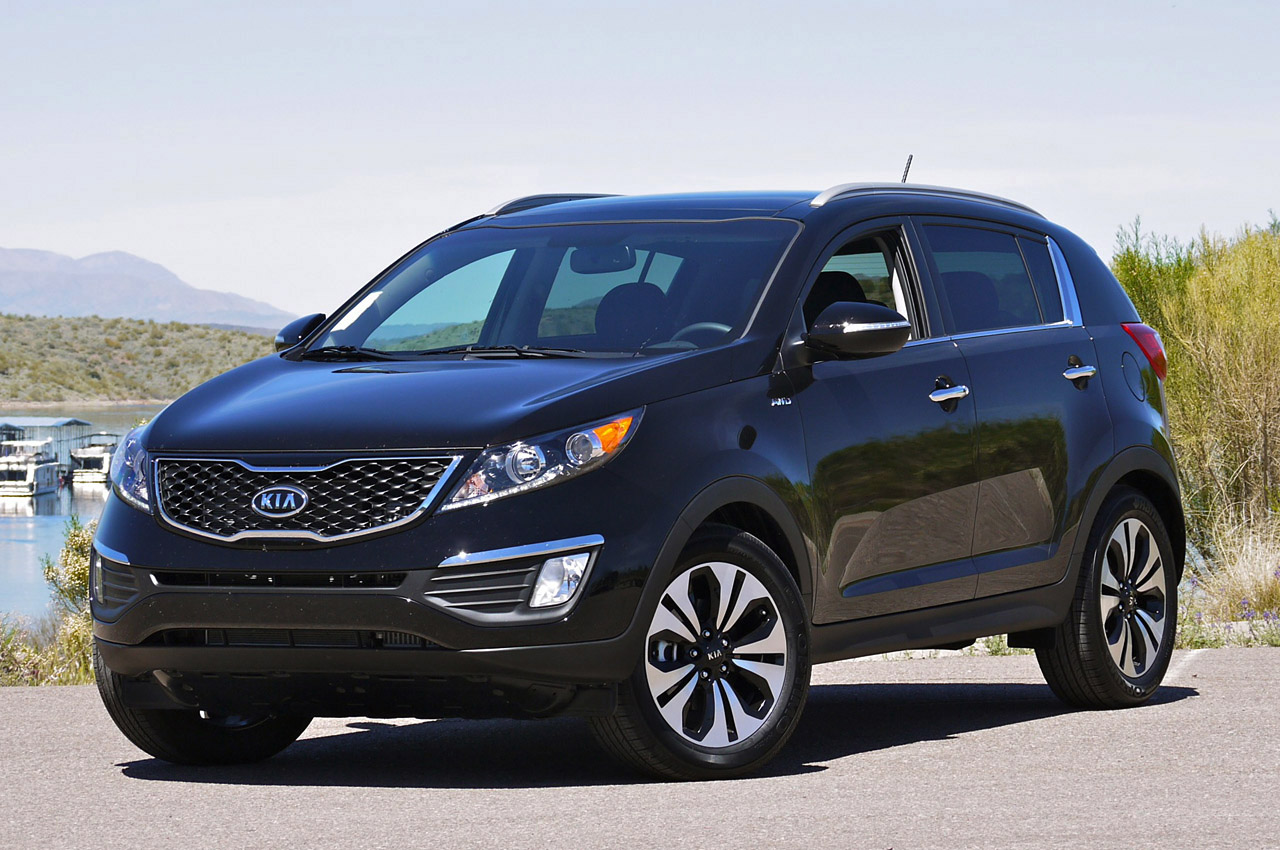 Kia Sportage 13 High Quality Kia Sportage Pictures On