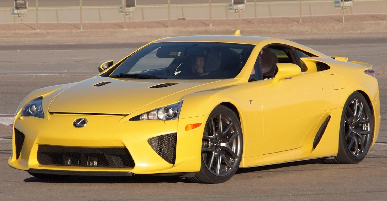 Lexus Sports Car Lfa Cost