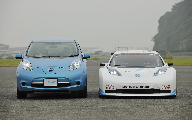 Nissan Leaf #12 - high quality Nissan Leaf pictures on MotorInfo.org
