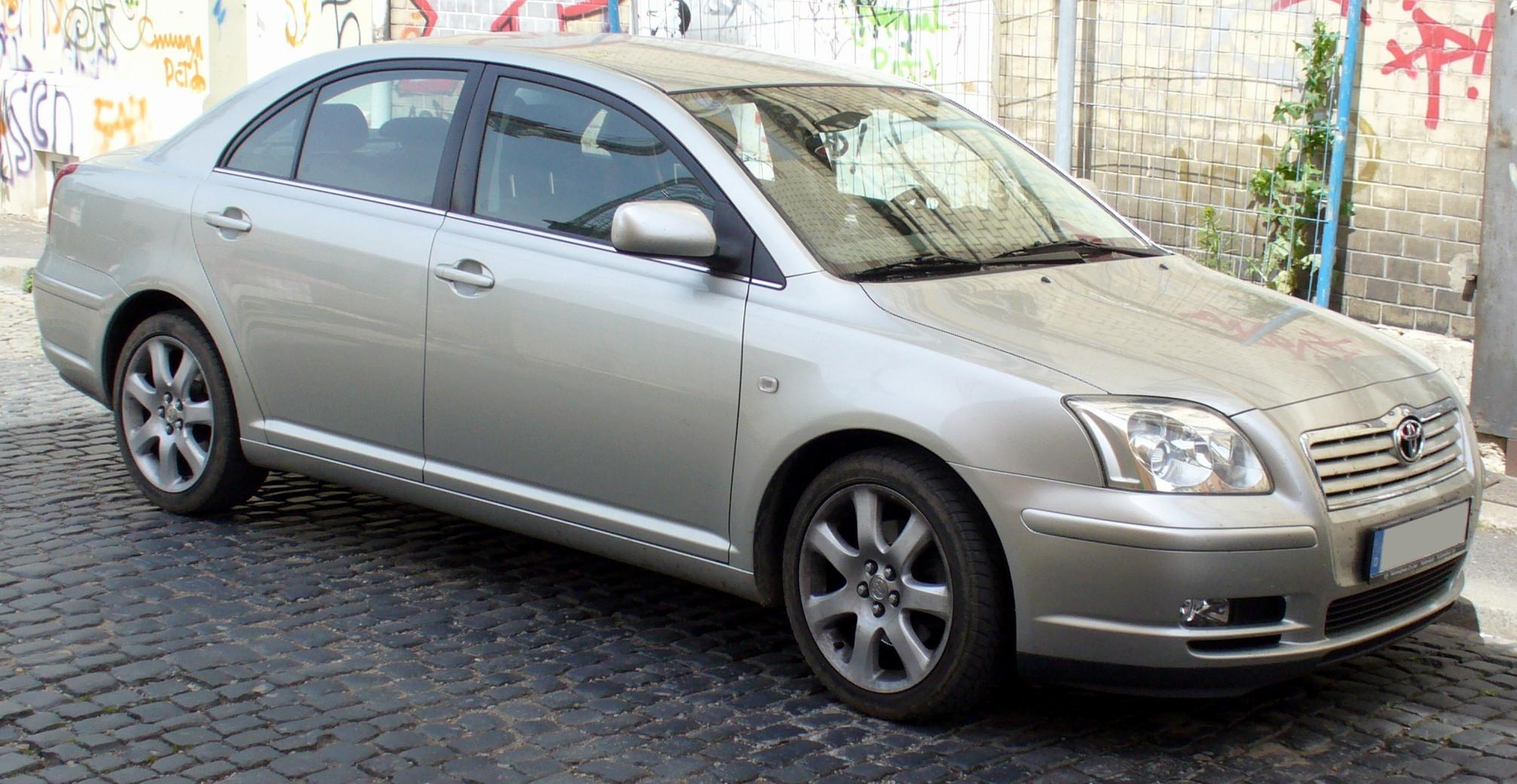 Отзывы о Toyota Avensis (Тойота Авенсис) от владельцев ...