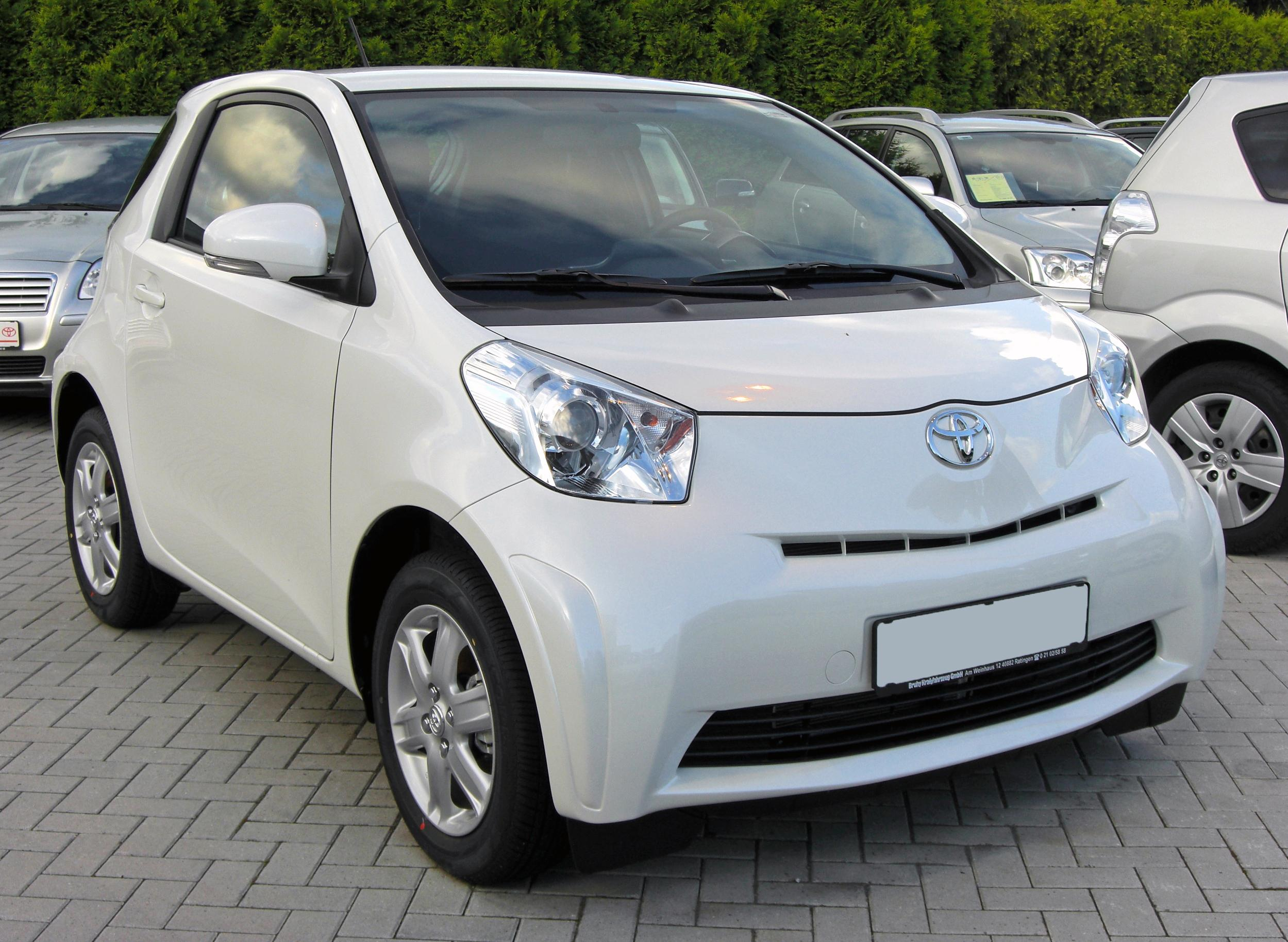 Toyota iQ #1  high quality Toyota iQ pictures on