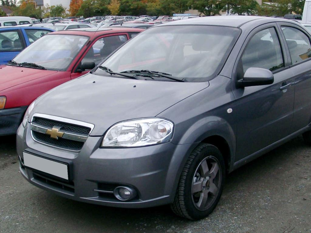 Chevrolet Aveo #12 - high quality Chevrolet Aveo pictures on MotorInfo ...
