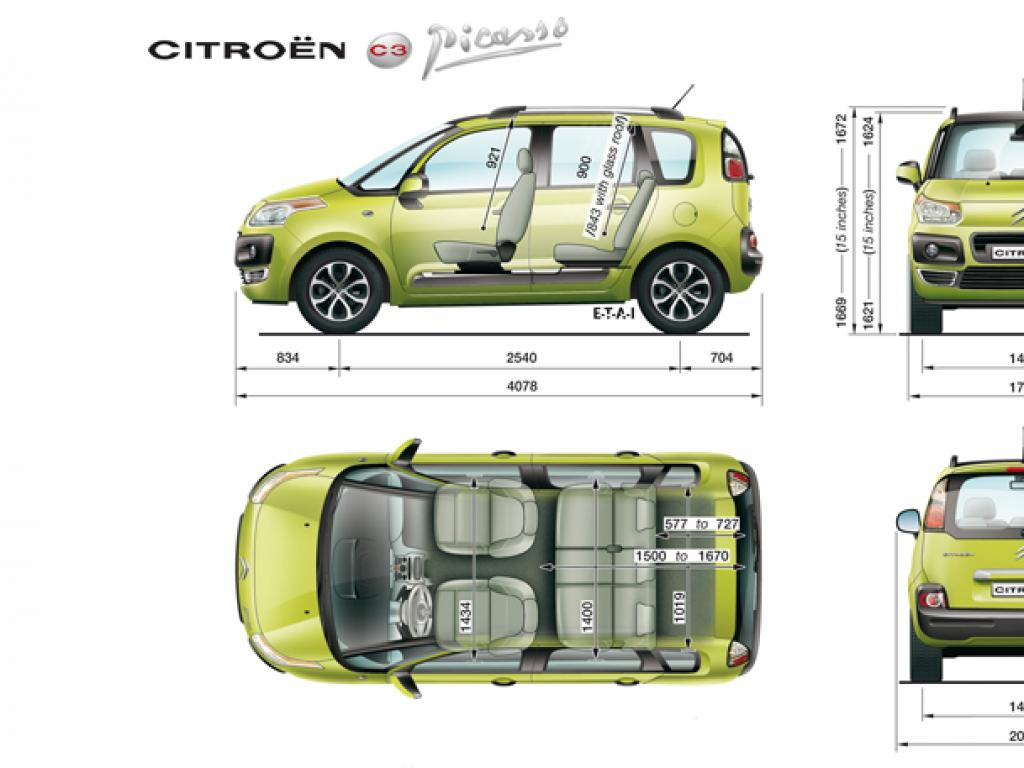 citroen c3 dimensions car reviews 2018. Black Bedroom Furniture Sets. Home Design Ideas
