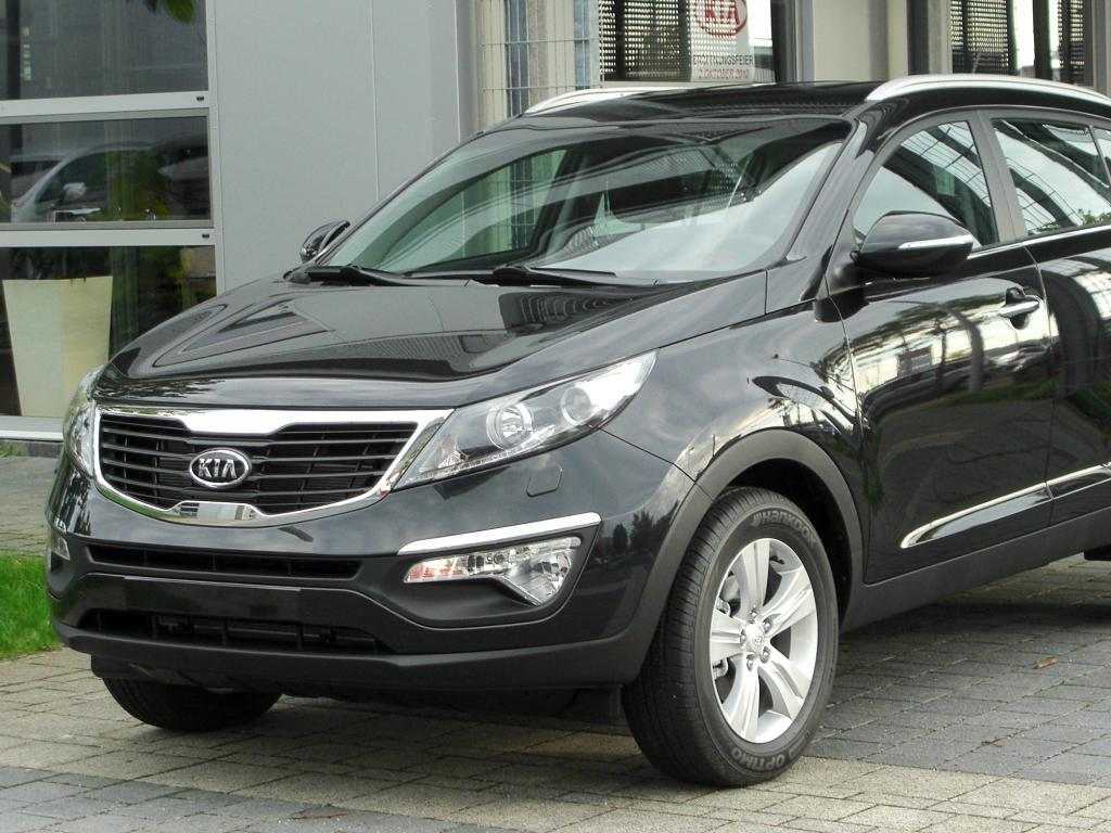 Kia Sportage 14 High Quality Kia Sportage Pictures On