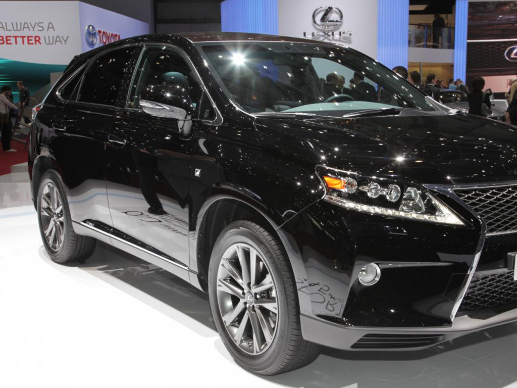 Lexus RX #13 - high quality Lexus RX pictures on MotorInfo.org