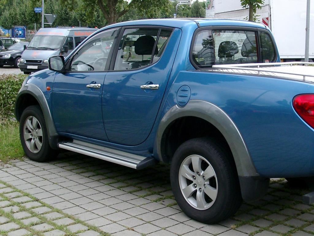 Mitsubishi L200 #9 - high quality Mitsubishi L200 pictures on MotorInfo.org