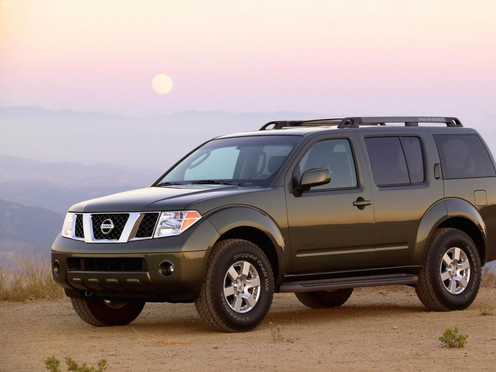 Nissan Pathfinder #5 - high quality Nissan Pathfinder pictures on MotorInfo.org