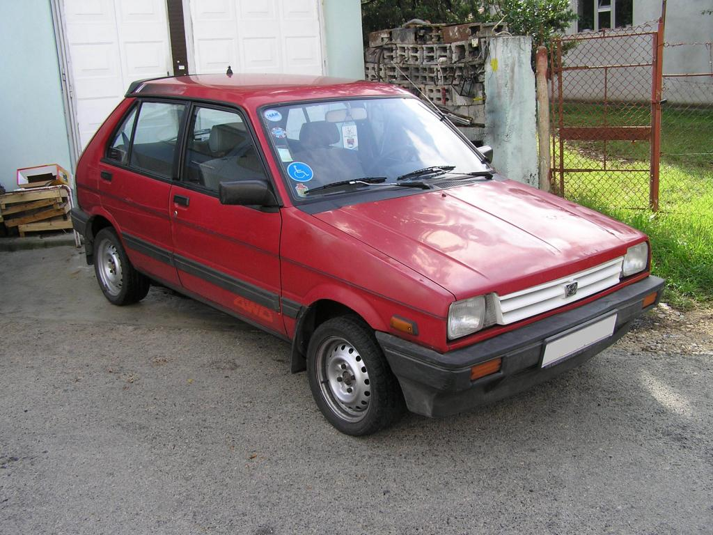 Subaru Justy 1 High Quality Subaru Justy Pictures On